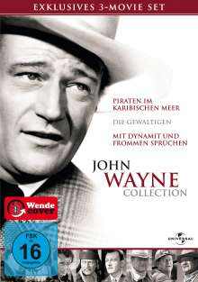 John Wayne Collection, 3 DVDs