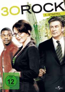 30 Rock Season 1, 4 DVDs