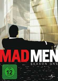 Mad Men Season 1, 4 DVDs