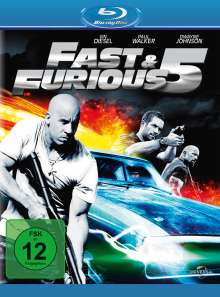 Fast And Furious 5 (Blu-ray), Blu-ray Disc