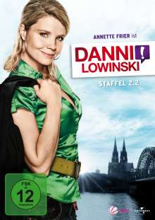 Danni Lowinski Staffel 2 Box 2, 2 DVDs