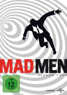 Mad Men Season 4, 4 DVDs