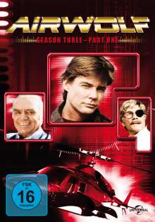 Airwolf Season 3 Box 1, 3 DVDs