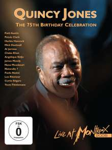 Quincy Jones  (geb. 1933): Live At Montreux 2008: 75th Birthday Celebration, Blu-ray Disc