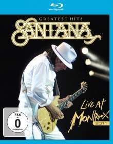 Santana: Greatest Hits - Live At Montreux 2011, Blu-ray Disc