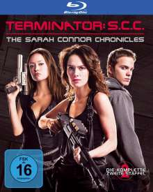 Terminator: The Sarah Connor Chronicles Season 2 (Blu-ray), 5 Blu-ray Discs