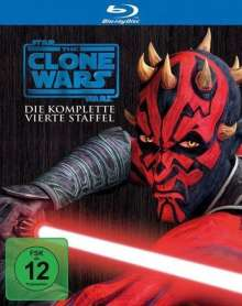 Star Wars: The Clone Wars Season 4 (Blu-ray), Blu-ray Disc