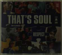 Various Artists: That'S Soul - Respect, 5 CDs