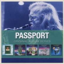 Passport; Klaus Doldinger: Original Album Series, 5 CDs