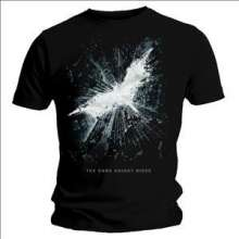 Batman - The Dark Knight Rises: Cityscape Logo T-shirt (Größe L), Merchandise