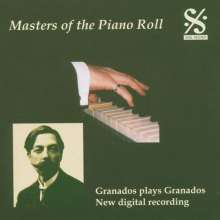 Piano Roll Recordings - Granados spielt Granados, CD