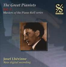 Piano Roll Recordings - Josef Lhevinne, CD