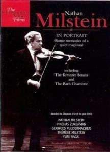 Nathan Milstein in Portrait (Dokumentation in engl.Spr.), DVD