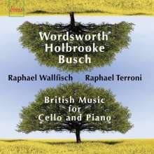 Wallfisch / terroni: Various: British Music For Cel, CD