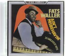 Various Artists: Ain't Misbehavin', CD