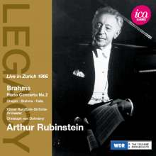 Arthur Rubinstein - Live in Zürich 1966, CD