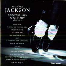 Michael Jackson: Greatest Hits - HIStory Vol.1, CD