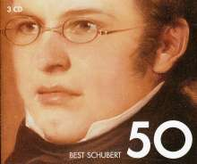 Franz Schubert (1797-1828): 50 Best Schubert, 3 CDs