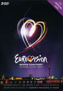 Eurovision Song Contest Düsseldorf 2011, 3 DVDs