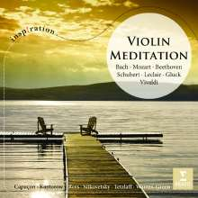 Violin Meditation, CD