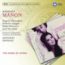 Jules Massenet (1842-1912): Manon, 3 CDs