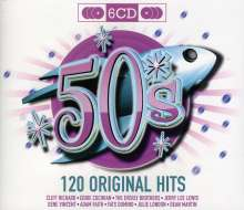 Various Artists: Original Hits 50'S, 6 CDs