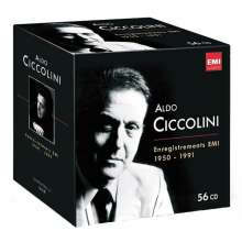 Aldo Ciccolini - Complete EMI Recordings 1950-1991, 56 CDs