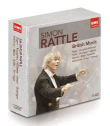 Simon Rattle - British Music, 11 CDs