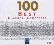 100 Best Classical Composers (EMI), 6 CDs