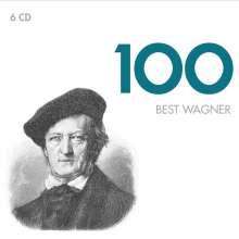 Richard Wagner (1813-1883): 100 Best Wagner (EMI), 6 CDs