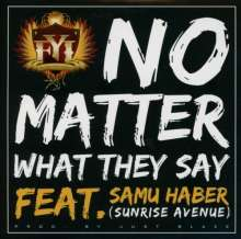 Follow Your Instinct: No Matter What They Say (Feat.Samu Haber - Sunrise Avenue), Maxi-CD