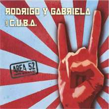 Rodrigo Y Gabriela: Area 52 (Limited Edition CD + DVD), CD
