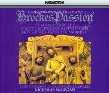 Georg Philipp Telemann (1681-1767): Brockes Passion, 3 CDs