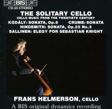 Frans Helmerson,Cello solo, CD