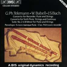 William Babell (1690?-1767): Flötenkonzert op.3,3, CD