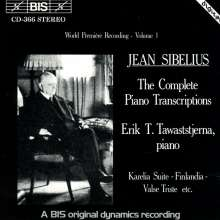 Jean Sibelius (1865-1957): Klaviertranskriptionen Vol.1, CD