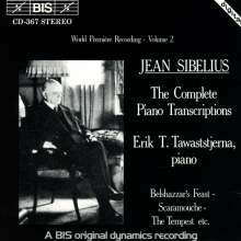 Jean Sibelius (1865-1957): Klaviertranskriptionen Vol.2, CD