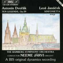 Antonin Dvorak (1841-1904): Legenden op.59, CD