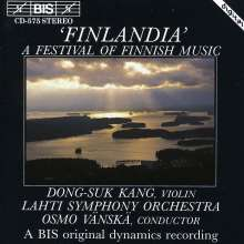 A Festival of Finnish Music, CD