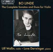 Bo Linde (1933-1970): Violinsonate op.10, CD