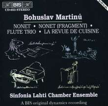 Bohuslav Martinu (1890-1959): Trio f.Flöte,Cello & Klavier, CD