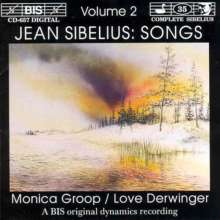 Jean Sibelius (1865-1957): Lieder Vol.2, CD
