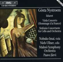 Gösta Nystroem (1890-1966): Sinfonia concertante f.Cello & Orch., CD