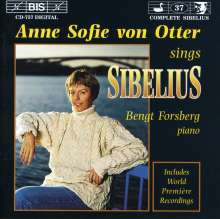 Jean Sibelius (1865-1957): Lieder Vol.3, CD