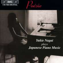 Yukie Nagai - Japanese Piano Music, CD