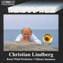 Christian Lindberg - Windpower, CD