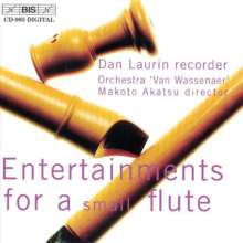 Dan Laurin - Entertainments for a Small Flute, CD