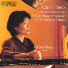 Cesar Franck (1822-1890): Klaviersonate in A (nach der Violinsonate), CD