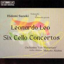 Leonardo Leo (1694-1744): Cellokonzerte Nr.1-5 (in D,d,f,A,A), CD