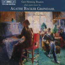 Agathe Backer-Gröndahl (1847-1907): Klavierwerke, CD